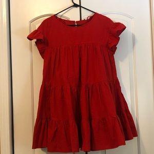 Red Leslie Selfie Dress